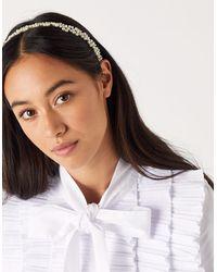 Accessorize Pearl Crown Headband - Multicolour