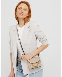Accessorize Meghan Metallic Tweed Cross-body Bag - Multicolour