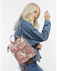 Accessorize - Mila Floral Printed Backpack - Lyst