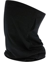 Accessorize Ladies Black Cotton Anti-bacterial Snood Face Covering Mask