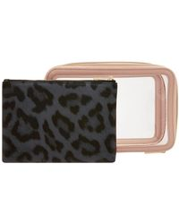 Accessorize Clear Makeup Case Set - Multicolour