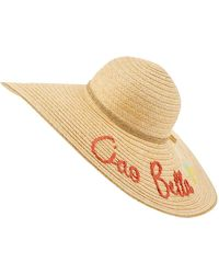 Accessorize - Oversized Ciao Bella Floppy Hat - Lyst