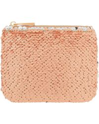 Accessorize - Reversible Sequin Coin Purse - Lyst