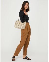 Accessorize Ayda Boucle Cross-body Bag - Multicolour