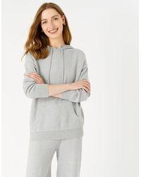 Accessorize Lounge Knit Hoody Grey