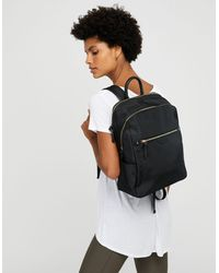 Accessorize Judy Nylon Backpack - Black