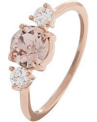 Accessorize - Sparkle Stone Ring With Swarovski® Crystals - Lyst