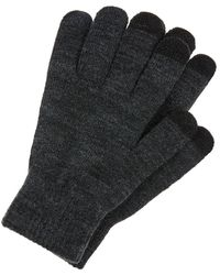 Accessorize Super-stretchy Touchscreen Gloves - Grey