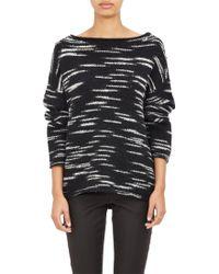 ATM - Mélange Boxy Sweater - Lyst