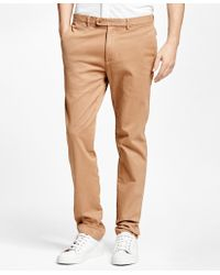 Brooks Brothers   Slim Fit Garment-dyed Chinos   Lyst