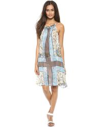 Zimmermann Mystic Cover Up Print - Blue