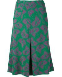 Duro Olowu Print Skirt - Green