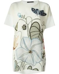 Gucci Butterfly Print Top - Lyst