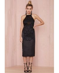 Nasty Gal Collection Hold Tight Embroidered Dress - Lyst