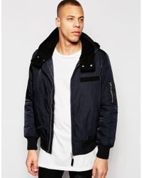 Cheap Monday Space Bomber - Blue