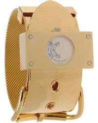 Balenciaga - Montre Acier Gold Watch - Lyst