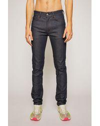 Acne Studios Mid-rise Skinny Jeans - Blue