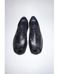 Acne Studios Leather Derby Shoes - Black