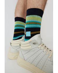Acne Studios - Chaussettes à rayures - Lyst