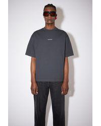 Acne Studios Printed T-shirt - Black