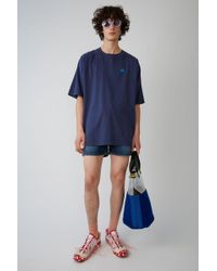 Acne Studios - Bassetty Badge french Blue - Lyst