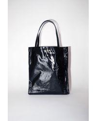 Acne Studios Oilcloth Tote black