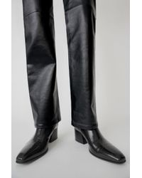 Acne Studios - Patent leather boots - Lyst