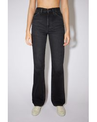Acne Studios Bootcut Fit Jeans black