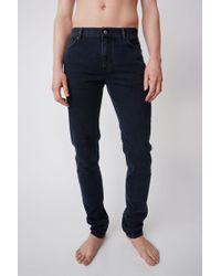 Acne Studios - Slim Leg Jeans - Lyst