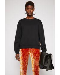 Acne Studios Classic Fit Sweatshirt black