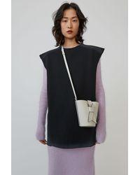 Acne Studios Sleeveless Sweatshirt faded Black
