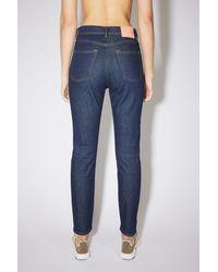 Acne Studios Slim fit jeans - Bleu