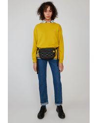 Acne Studios Oversized Sweatshirt amber Yellow