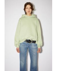 Acne Studios Hooded Sweatshirt - Green