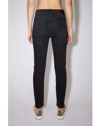 Acne Studios Slim fit jeans - Noir