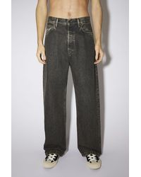 Acne Studios Loose Fit Jeans - Grey