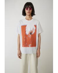Acne Studios - Special Edition T-shirt optic White - Lyst