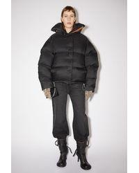 Acne Studios Fn-wn-outw000480 Black Down Puffer Jacket