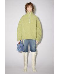Acne Studios Fleece Sweatshirt - Multicolour