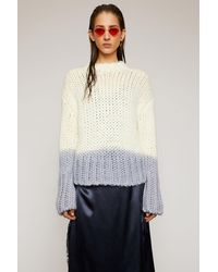 Acne Studios Dip-dyed Jumper off White