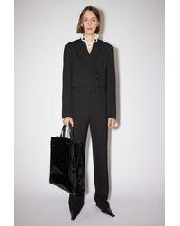 Acne Studios Suit Trousers - Black