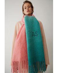Acne Studios - Écharpe bicolore - Lyst