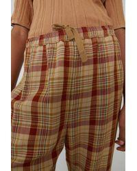 Acne Studios - Pantalon fuselé à carreaux - Lyst