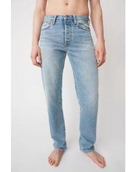 Acne Studios - Classic Fit Jeans light Blue - Lyst