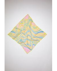 Acne Studios Psychedelic Scarf - Pink