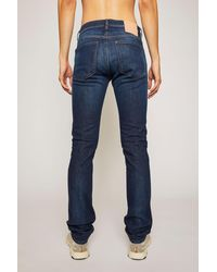 Acne Studios Slim fit jeans - Bleu