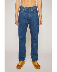 Acne Studios 2003 Dark Blue Trash Dark Blue Loose Fit Jeans