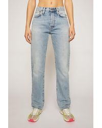 Acne Studios Classic Fit Jeans light Blue