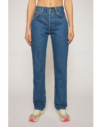 Acne Studios Classic Fit Jeans dark Blue