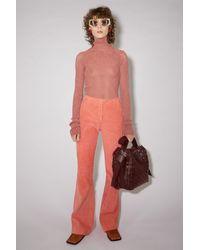 Acne Studios Corduroy Trousers - Multicolour